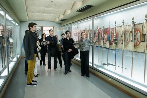 Proba predstave SOLUNCI GOVORE u Vojnom muzeju