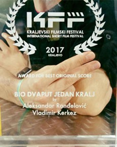 Nagrada za najbolju muziku Kraljevski festival 1
