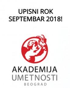Septembarski upisni rok 2018 (1)